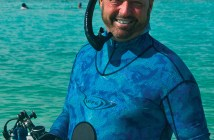 Tim Rock at The Scuba News