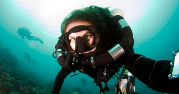 Scuba Selfie from Ashley Hauck @rEvogrl