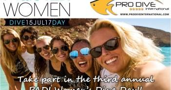 Pro Dive PADI Women's Day