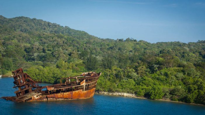 Shipwreck 2- Honduras