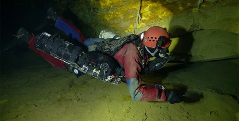 First in Europe! Czech scientists and divers create a 3D model of the flooded Chynov Cave