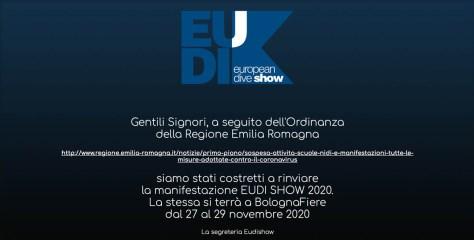 EUDI Show 2020 Postponed Due To Coronavirus