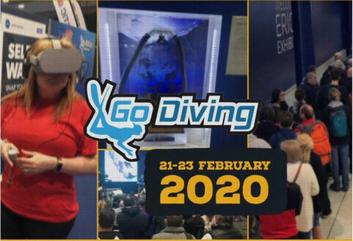 rEvo Rebreathers at Go Diving 2020