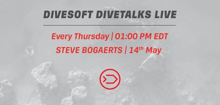 Divesoft DIVETALKS - Steve Bogaerts