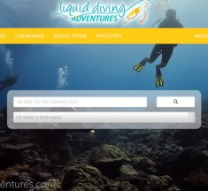 Liquid Diving Adventures Launch Fantastic New Travel Website