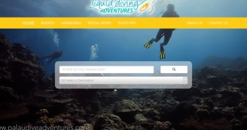 Liquid Diving Adventures New Webstie
