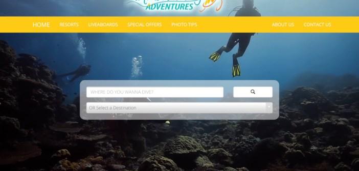 Liquid Diving Adventures Launch Fantastic New Travel Website