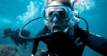 Scuba Diving Girl
