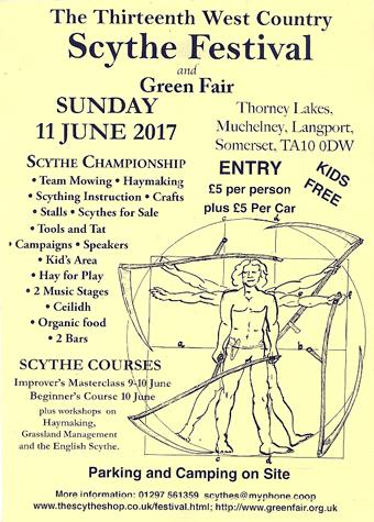 Somerset scythe festival 2017