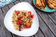 Fregola Sarda Pasta with Olives & Tomatoes