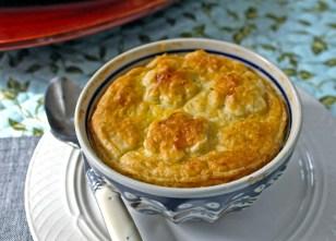 Chicken Pot Pie with Fennel & Edamame