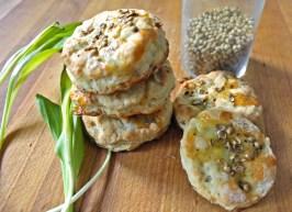 Ramp & Buttermilk Biscuits with Coriander