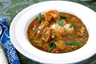 Gumbo with Smoked Okra
