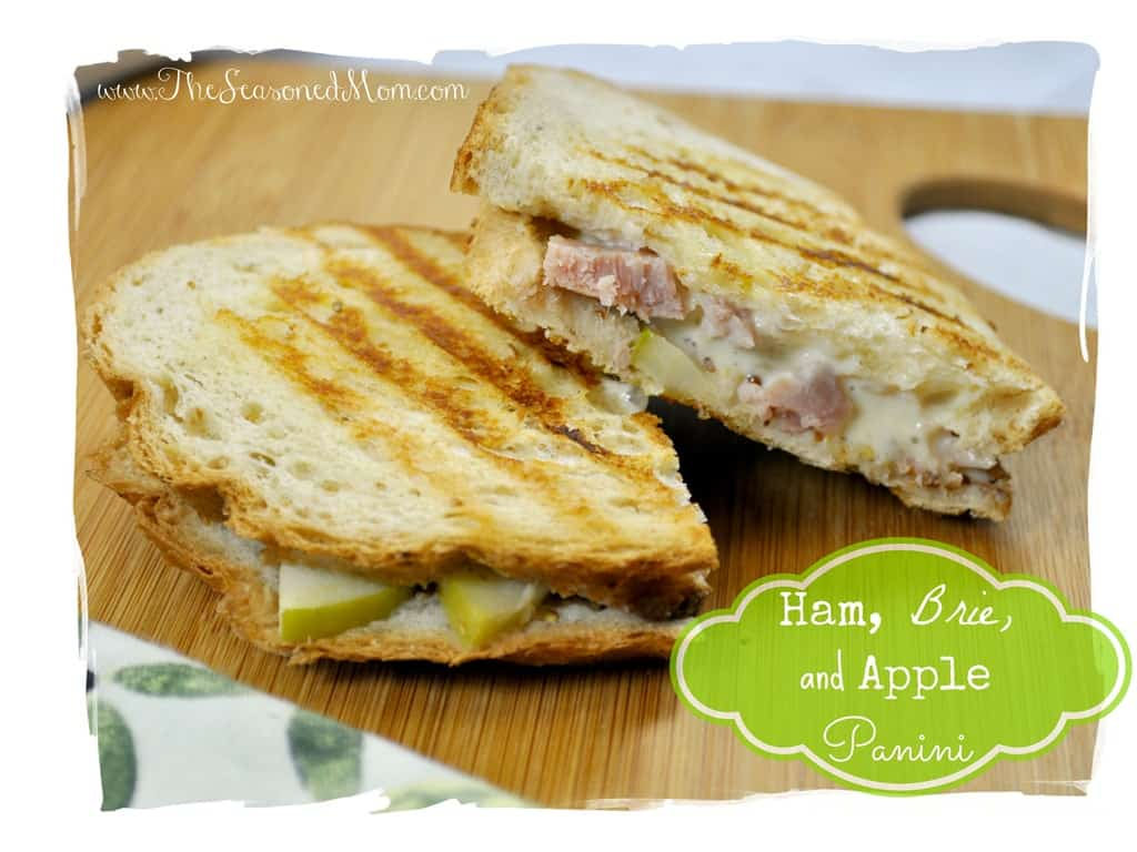 What We're Eating: Ham, Brie, and Apple Panini