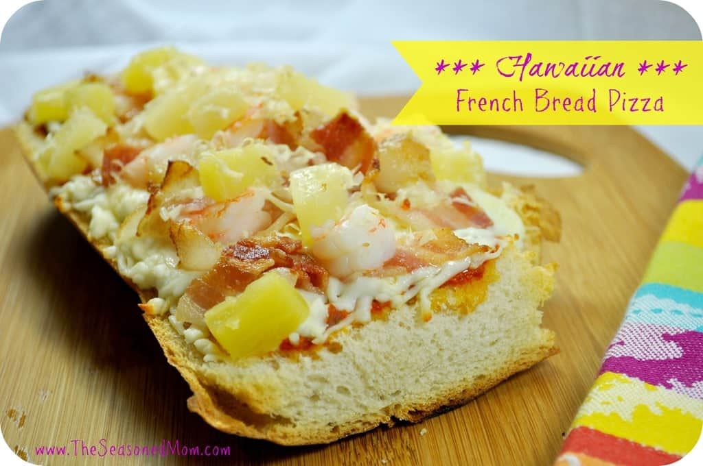 What We're Eating: Hawaiian French Bread Pizza