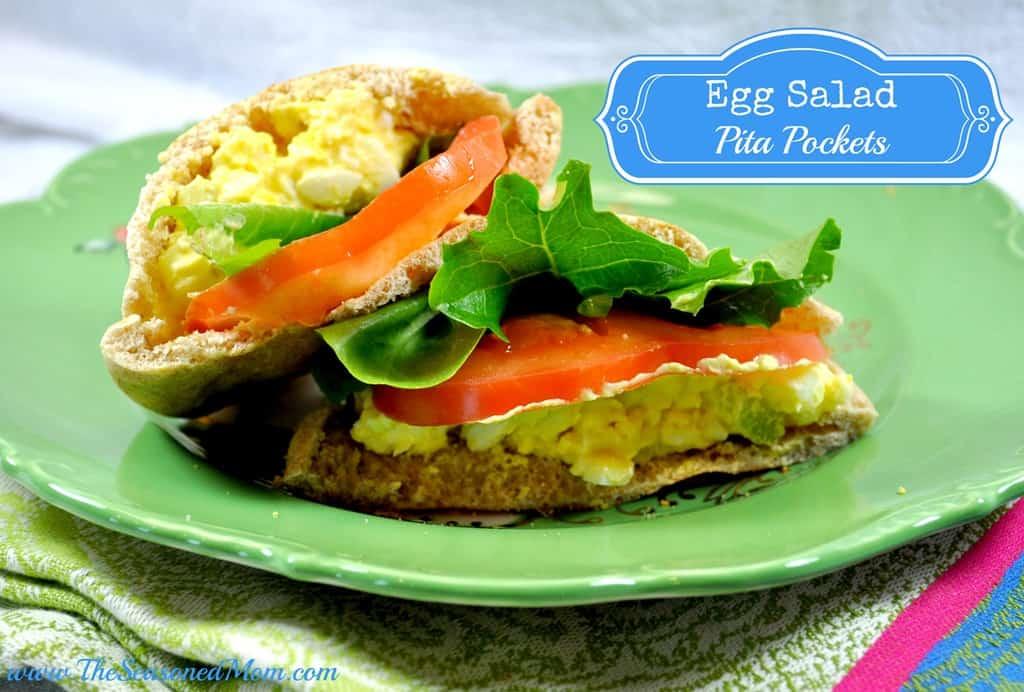 Egg Salad Pita Pockets