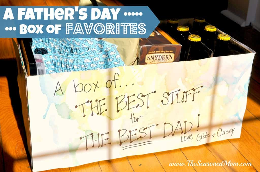 A Father's Day Box of Favorites