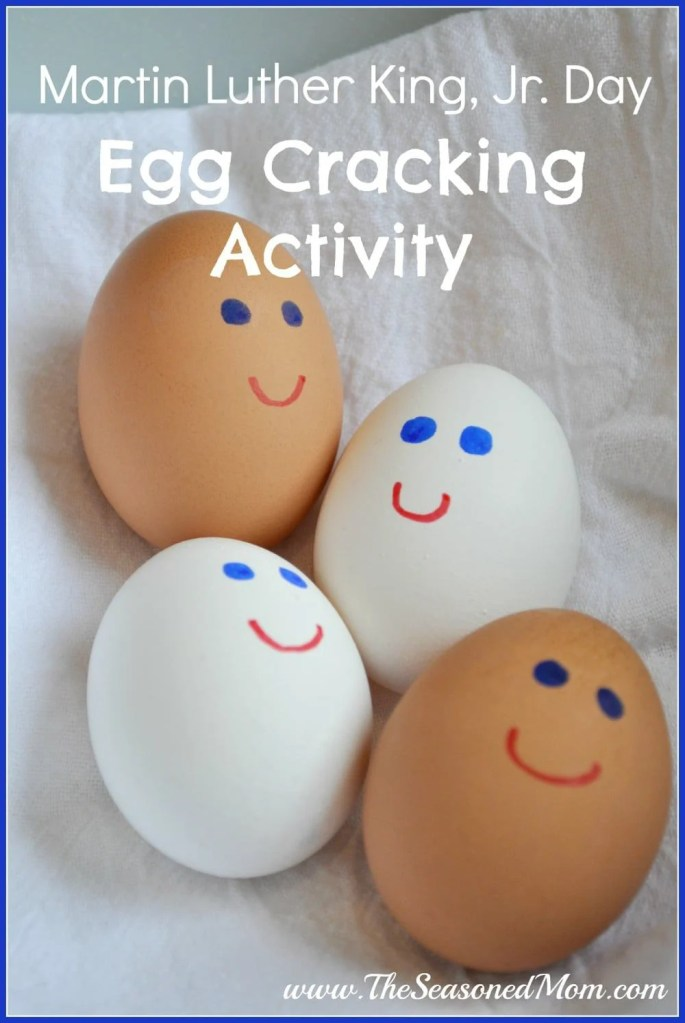 Martin Luther King, Jr. Day Egg Cracking Activity
