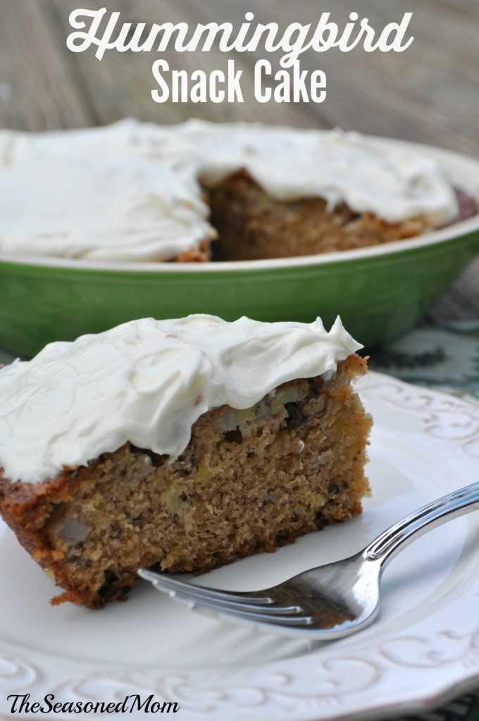 Hummingbird Snack Cake