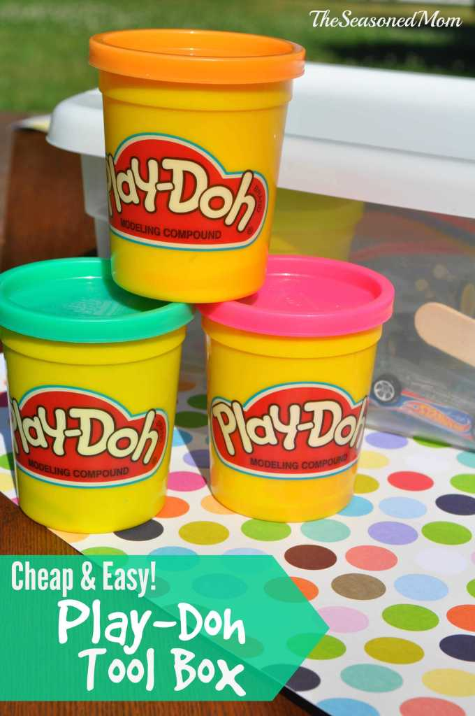 Cheap and Easy Play-Doh Tool Box