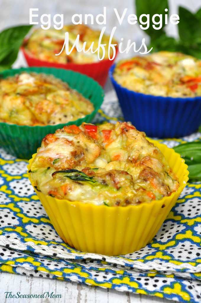 Clean Eating Breakfast: Egg and Veggie Muffins