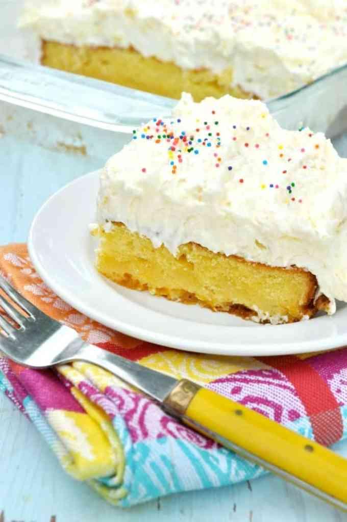 Orange Pineapple Fluff Cake