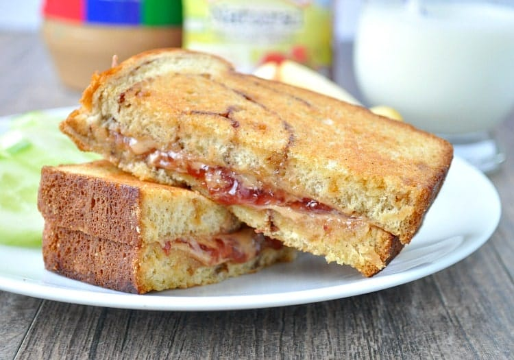 The Weekend Peanut Butter & Jelly Sandwich