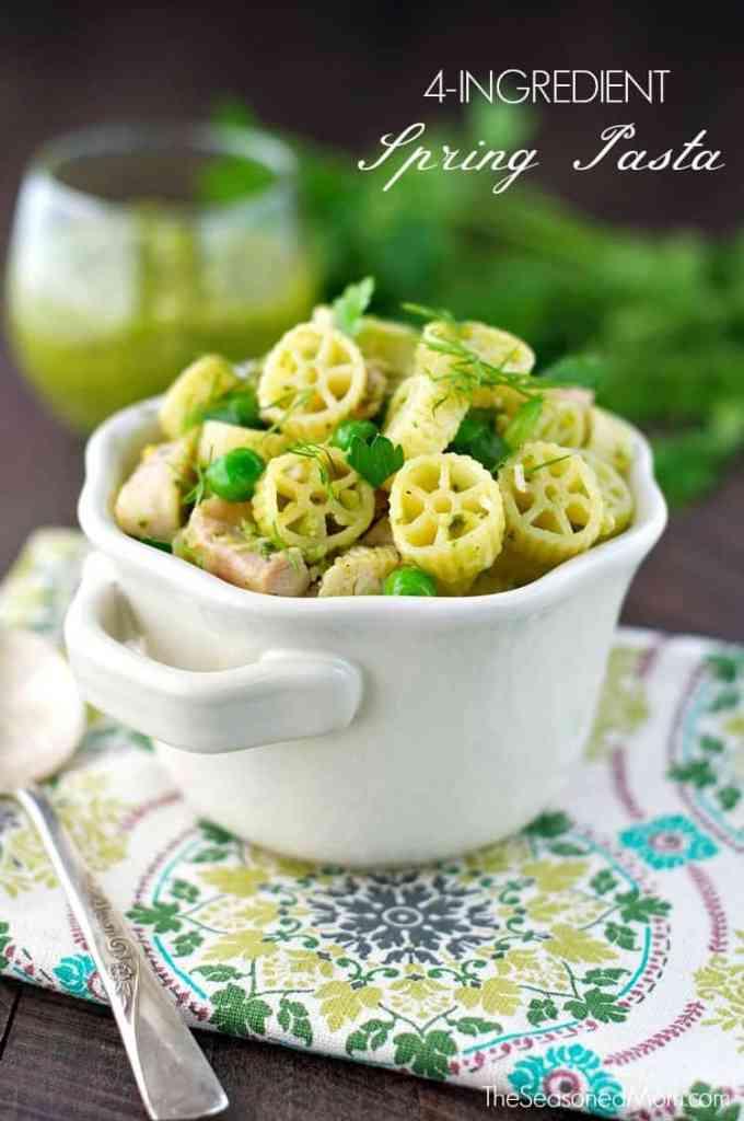 My Kids' Favorite Dinner!!! 4-Ingredient Spring Pasta