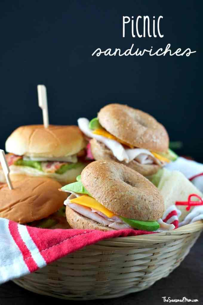 Picnic Sandwiches: 10 Easy, 3-Ingredient Combinations!
