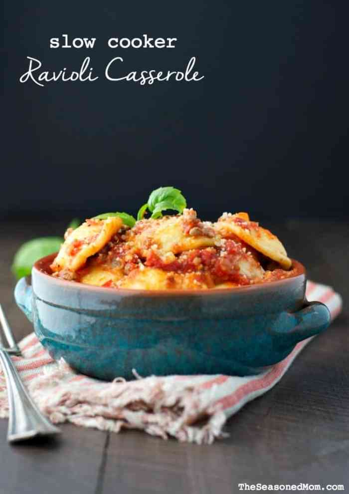 Slow Cooker Ravioli Casserole TEXT 2