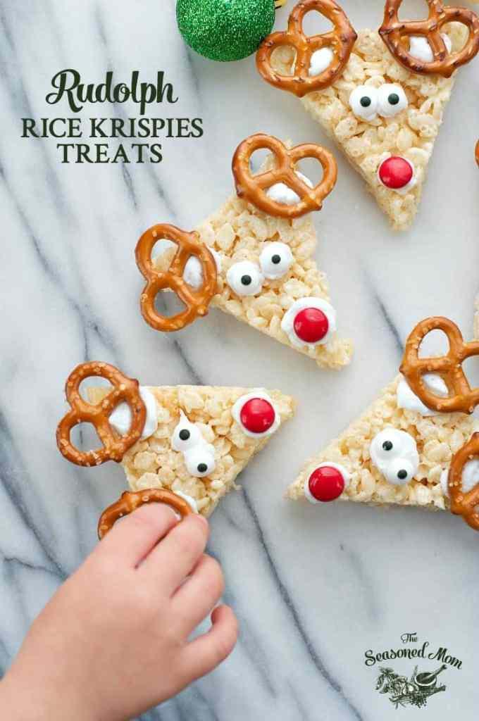 Rudolph Rice Krispies® Treats