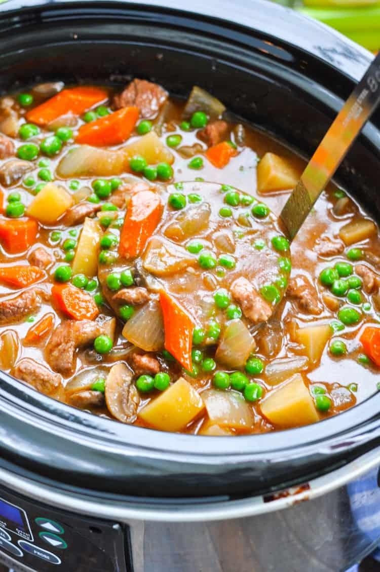 Farmhouse Slow Cooker Beef Stew The Seasoned Mom
