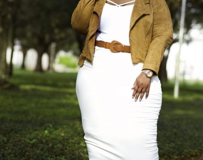 Fall Look: Suede and Ivory Featuring Fashion Nova Curve