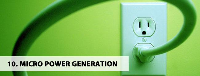 Micro-Power-Generation