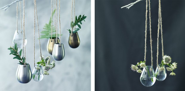 Hanging vases from Rowen & Wren| These Four Walls blog