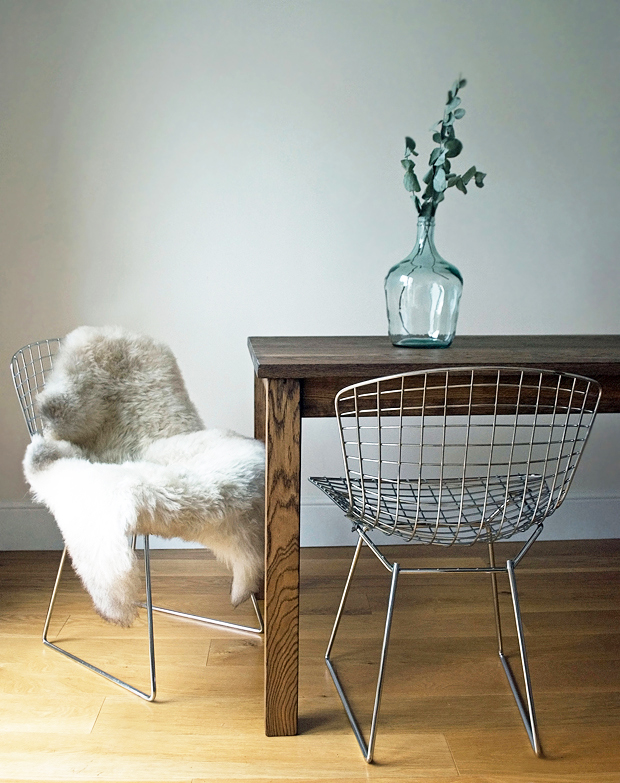 Bertoia chairs | These Four Walls blog