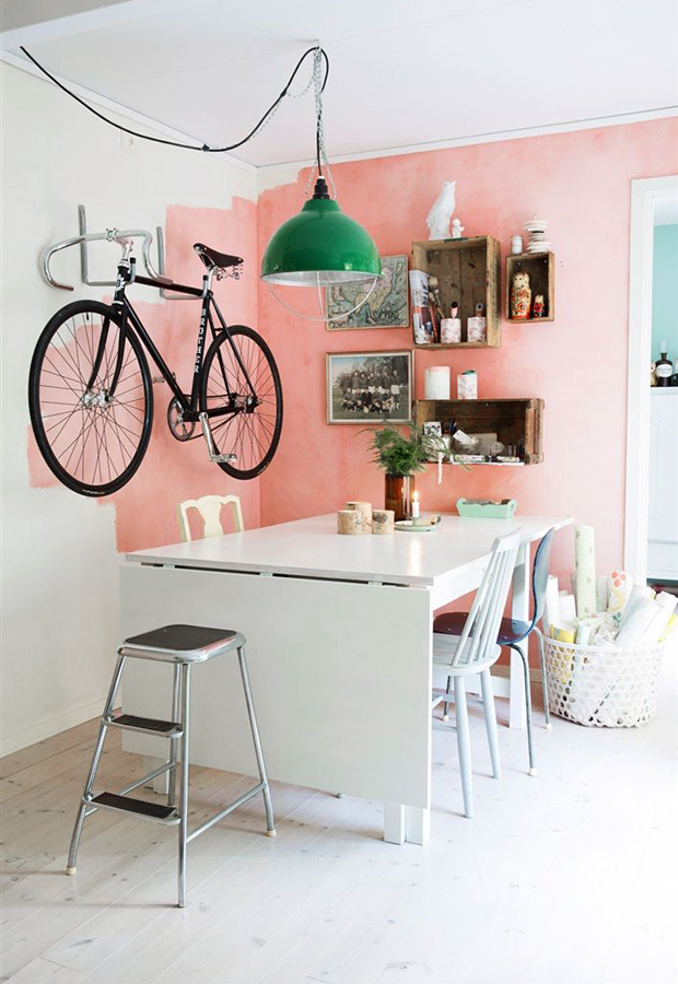 Bicycle storage | These Four Walls blog