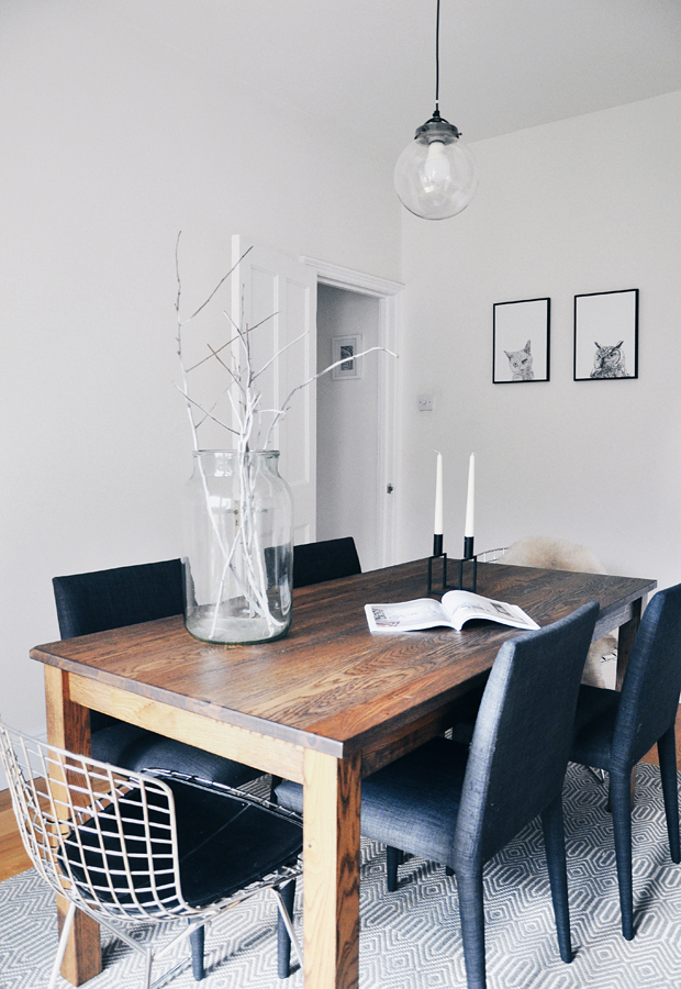 Our dining room makeover | These Four Walls blog