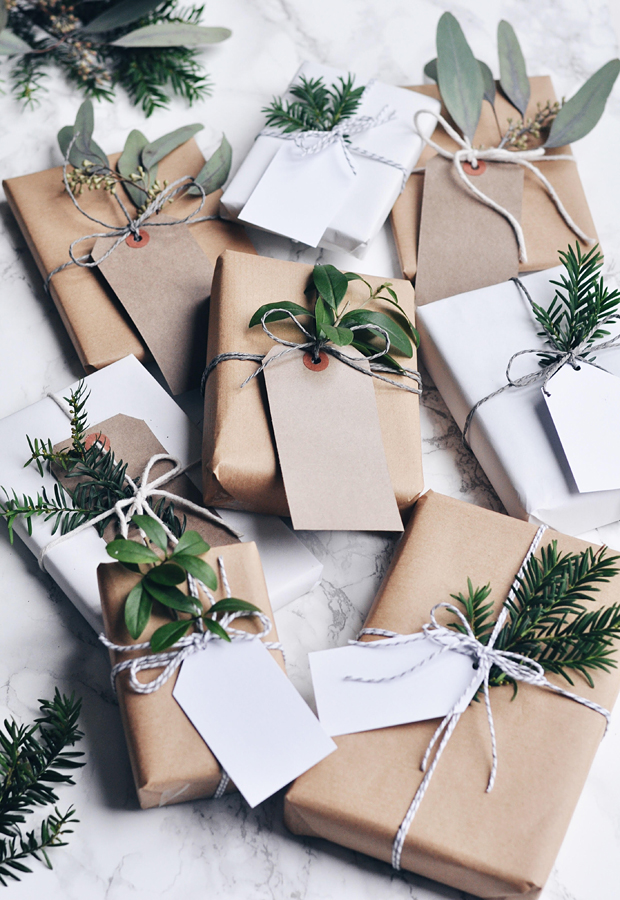 Festive wrapping inspiration These Four