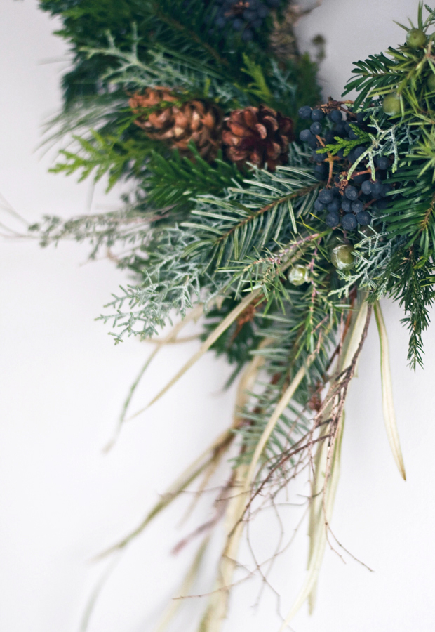 Wreath-making with Ruby & The Wolf | These Four Walls blog