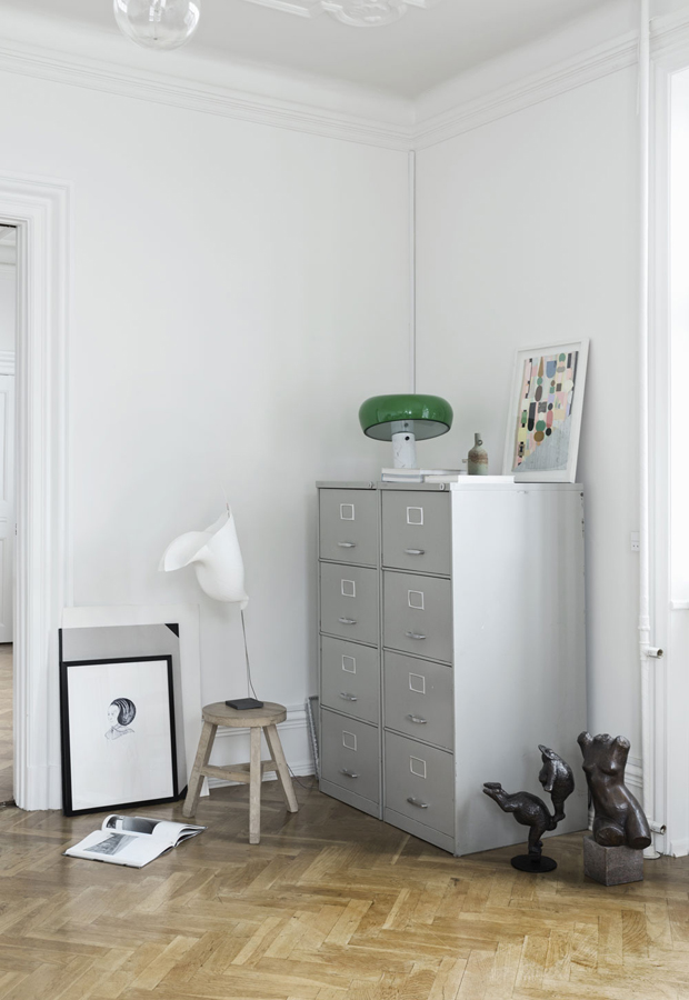 Home tour | An art-filled Danish apartment | These Four Walls blog