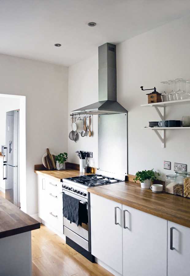 Urban Jungle Bloggers | Kitchen greens | These Four Walls blog