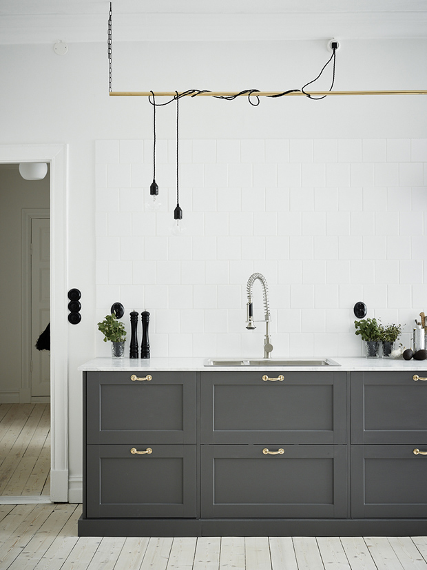 Room Envy | A grey and white kitchen | These Four Walls blog