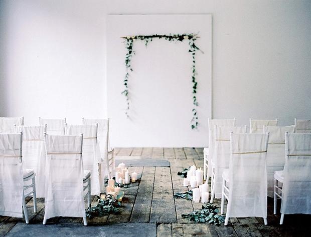 Warehouse wedding ceremony 3