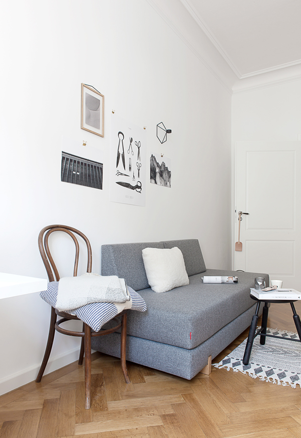 Home tour | The Scandi-inspired apartment of blogger Coco Lapine Design | These Four Walls blog