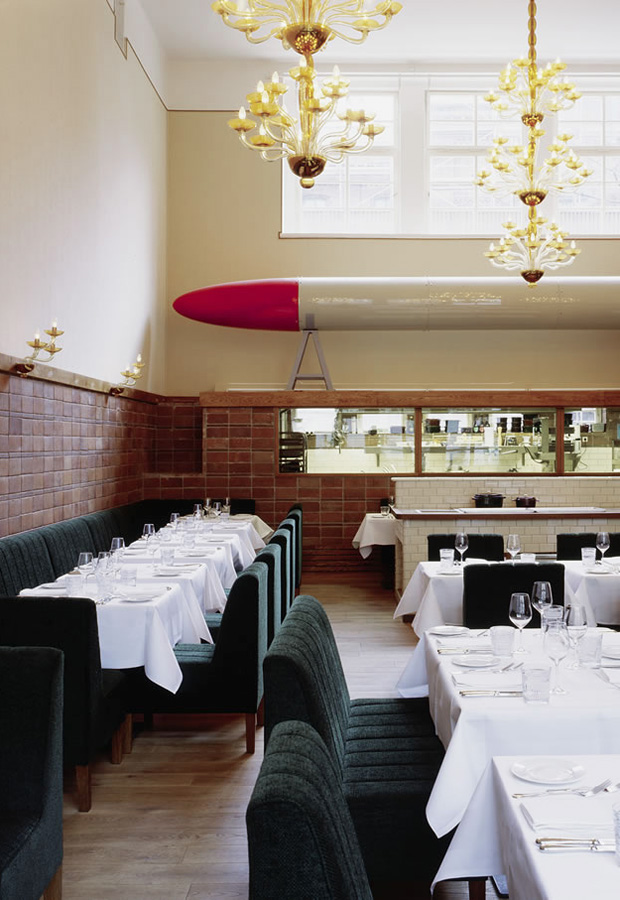 Pauly Saal | Berlin restaurants & cafés | These Four Walls blog