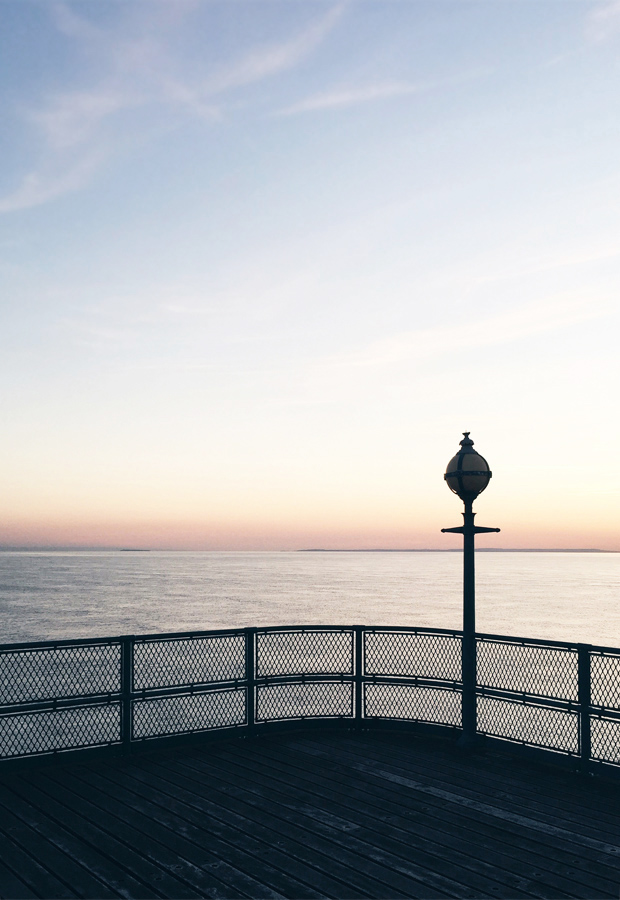 A summer evening by the sea | These Four Walls blog