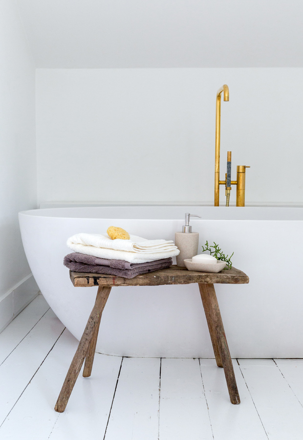 Bathroom accessories from Soak & Sleep | New furniture and homeware finds - September 2016 | These Four Walls blog