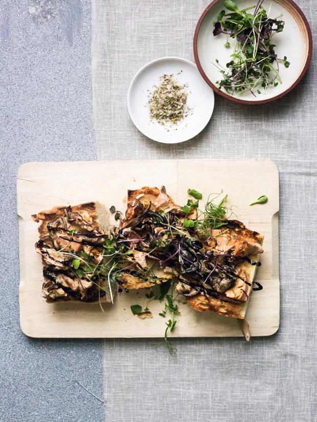 Recipe | Creamy wild mushrooms on toast | These Four Walls blo