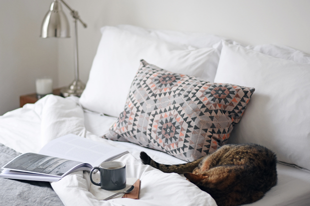 Guest room styling with Cox & Cox | These Four Walls blog